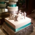Carriage Wedding Cake