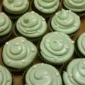 Cupcakes with polka dots