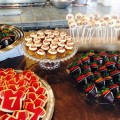San Francisco 49er Themed Dessert Bar