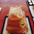 Spun Sugar Chocolate Birthday Cake