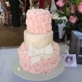 Rosette Bridal Shower Cake