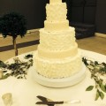 Petal Tiered Wedding Cake