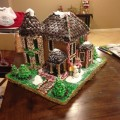 Gingerbread House Front View
