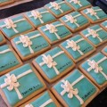 Tiffany's Themed Cookies