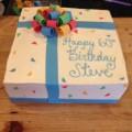 Colorful Present Cake