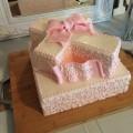 Cross Baptism Cake