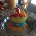 Beach Bucket Cake