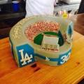 Dodgers Stadium Cake