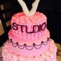 Studio V pink ombre Cake